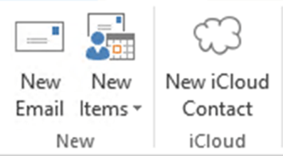 Save New Contacts to iCloud Contacts