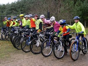 "Jenny and Slipstreamers at the Swinley Forest ""Lookout"" ride in 2007!"