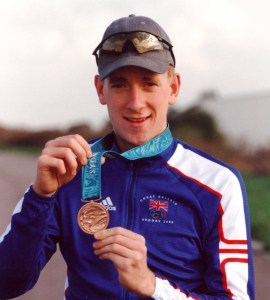 Sir Bradley at Slipstreamers Posing With his Olympic Medal!