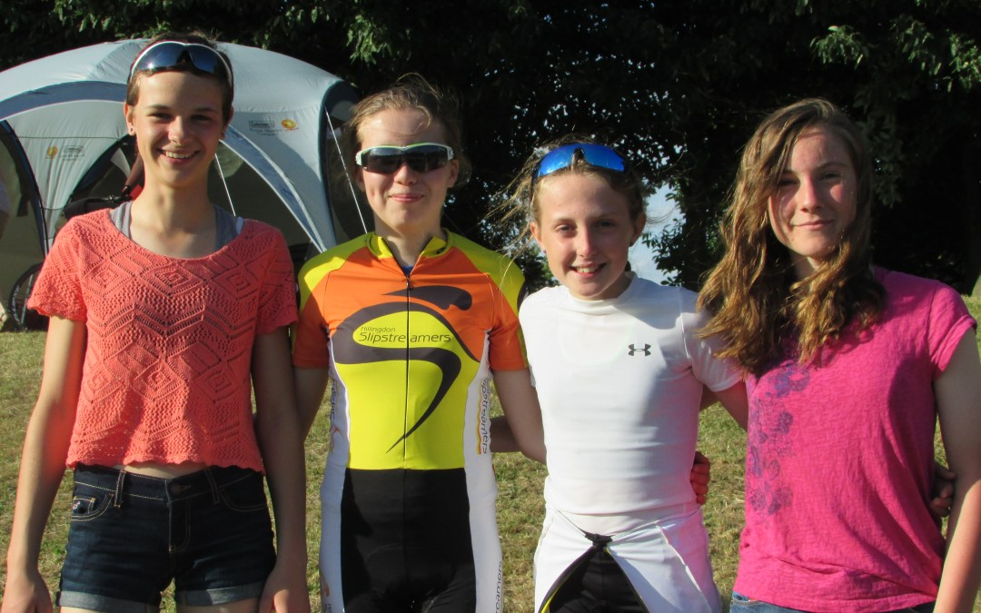 Zoe & Jemma Report from 2015 National Youth Omnium Finals