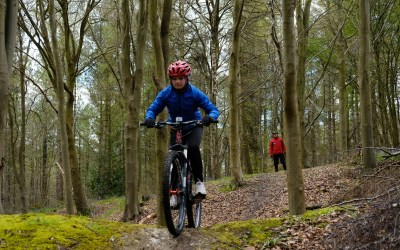 Lotts Wood Off-Site MTB Session with Special Guest!