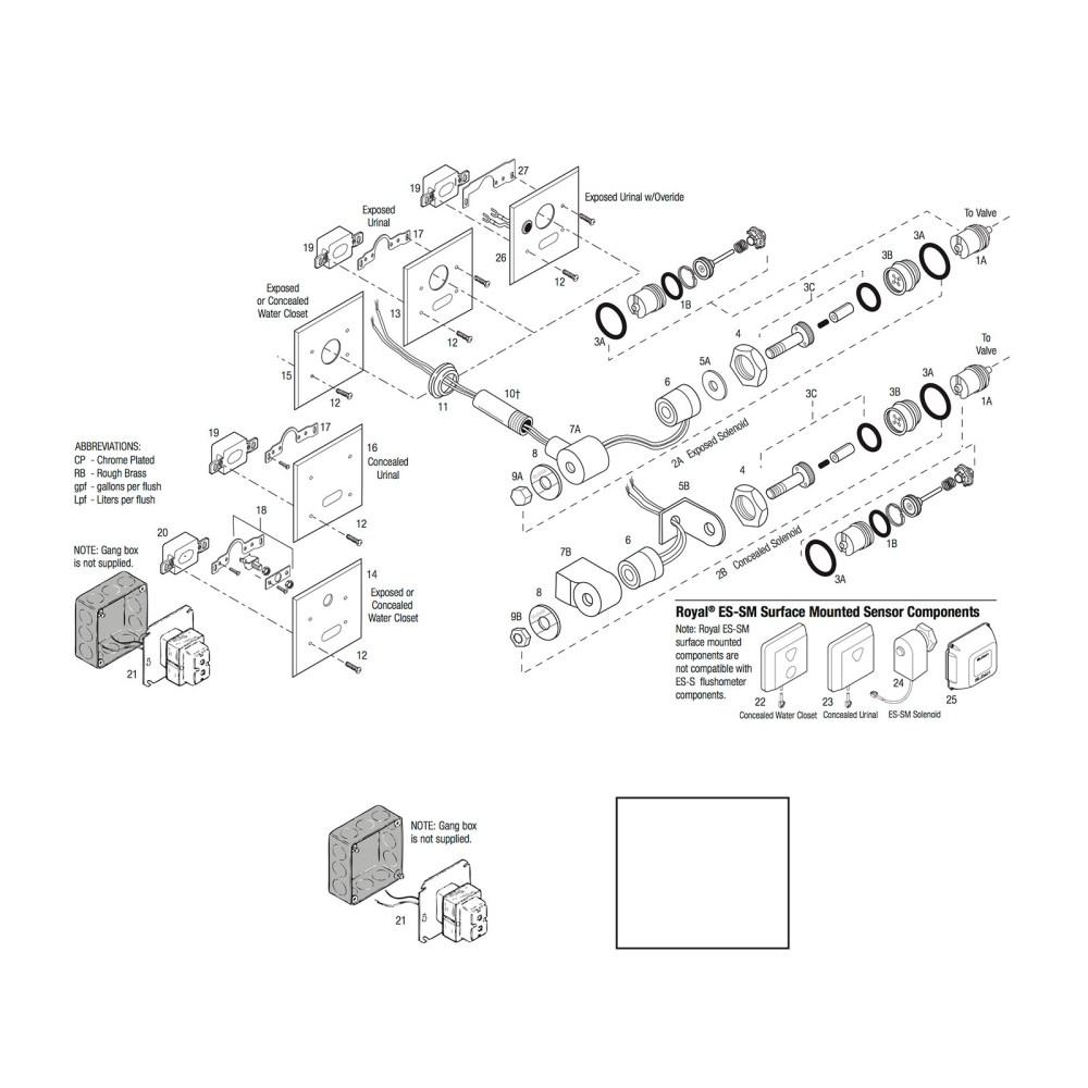 medium resolution of actuator cartridge assembly repair kit