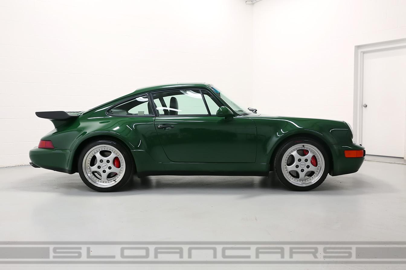 1994 Porsche 964 3 6 Turbo Paint To Sample Irish Green