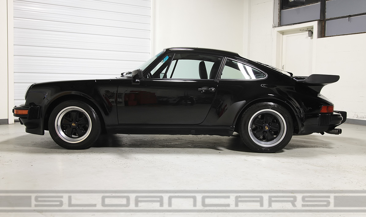 1989 Porsche 911 Turbo Coupe Black 23 687 Miles Sloan Cars