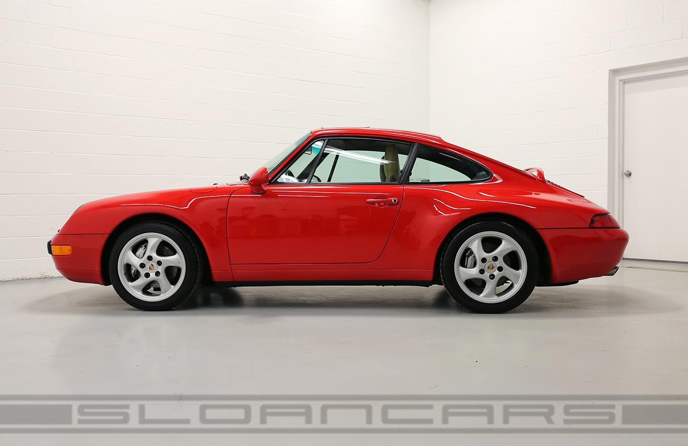 1995 Porsche 993 Carrera 4 Guards Red 28 196 Miles Sloan