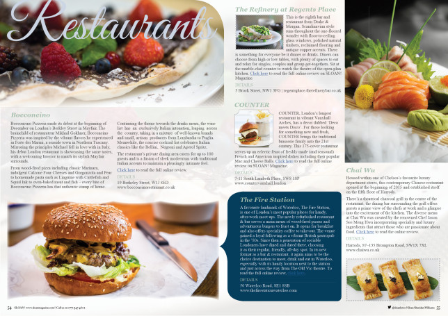 Restaurant And Cafe Magazine