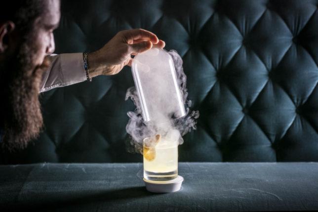 Smoking Cocktails  Smashing Cuisine at The Royal Exchange  SLOAN Magazine