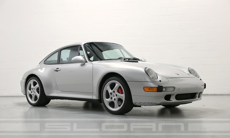 1997 Porsche 993 Carrera 4S Arctic SilverBlack 12330 miles  Sloan Motor Cars