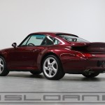 1997 Porsche 993 Twin Turbo Arena Red Classic Grey 29 430 Miles Sloan Motor Cars