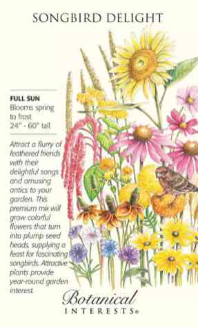 20. Botanical Interests wildflower seeds