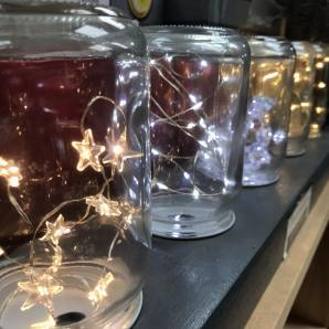 Sparkly LED lights for bowls and table settings