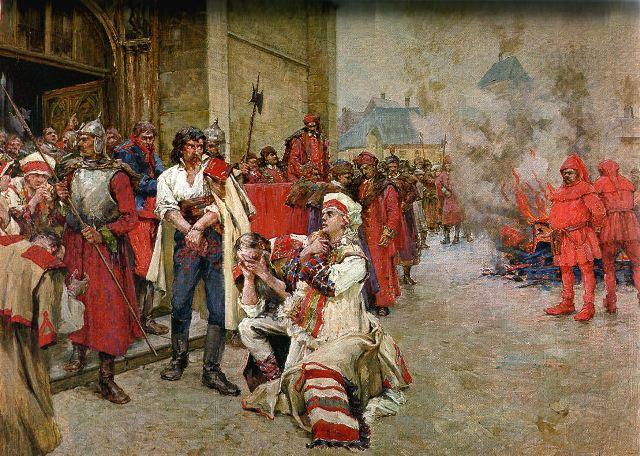 Oton_Ivekovic,_Smaknuce_Matije_Gupca_(na_trgu_ispred_crkve_sv._Marka_u_Zagrebu)