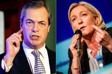 Nigel Farage i Marine Le Pen