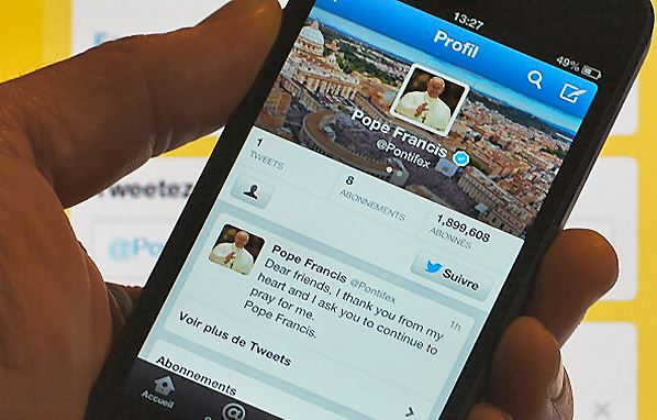 papa franjo tweet