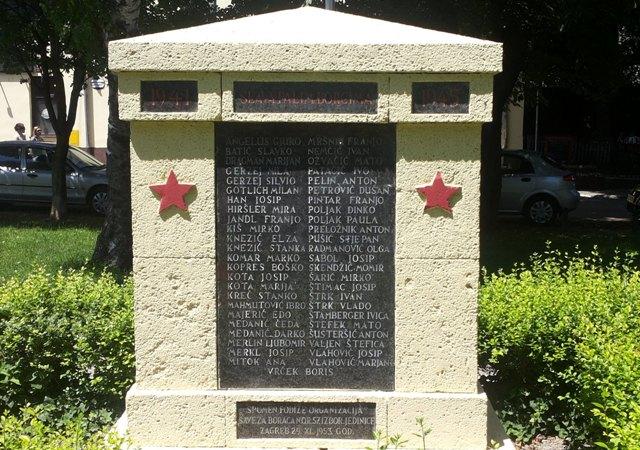 partizanski spomenici zagreb adžijina komunizam zločin josipović