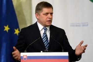 slovački premijer robert fico sankcije rusiji eu