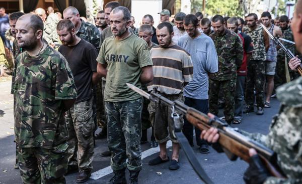 donjeck separatisti parada