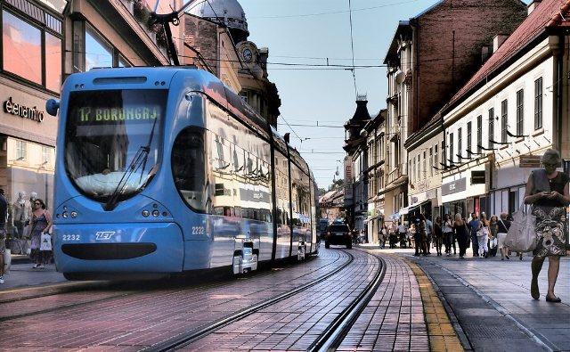 zagreb centar grada ilica tramvaj stanovi najam