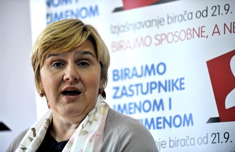 željka markić frano čirko referendum preferencijalno glasovanje izborni sustav