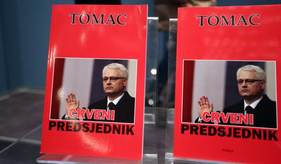 Predstavljena knjiga Z. Tomca 'Crveni predsjednik'