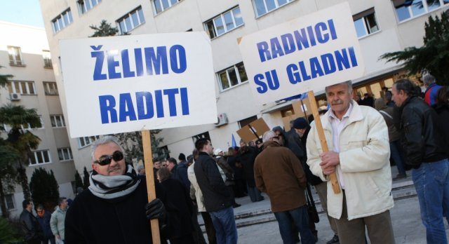 nezaposlenost u hrvatskoj