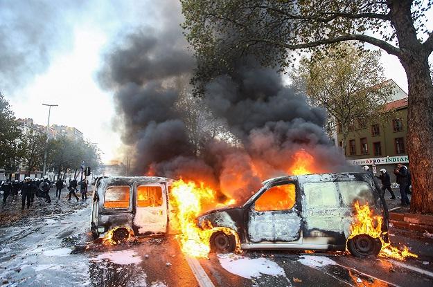 Bruxelles belgija prosvjedi neredi