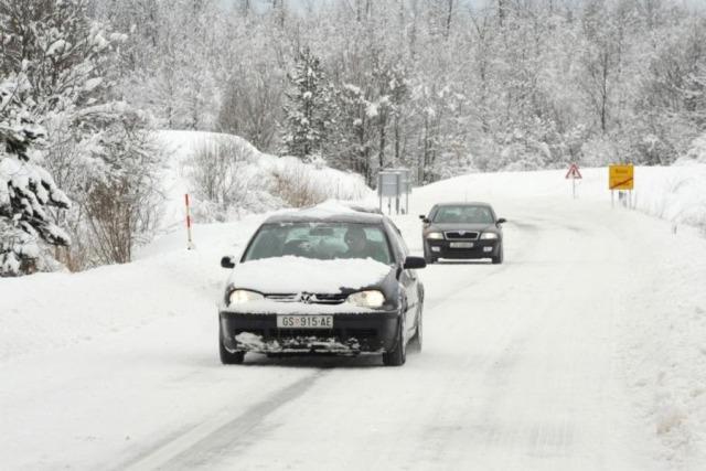 temperature dalekovod snijeg
