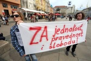 occupy croatia marijana mirt dražen heroić prosvjed protiv branitelja mladen pavković
