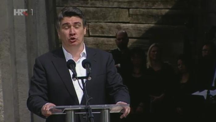 zoran milanović jasenovac srbi partizani