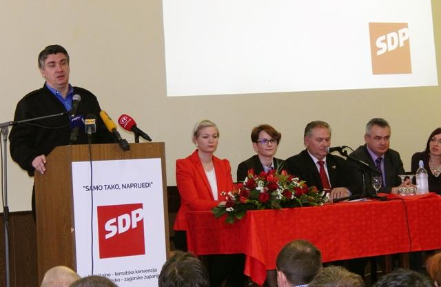 zoran milanović sdp vlada