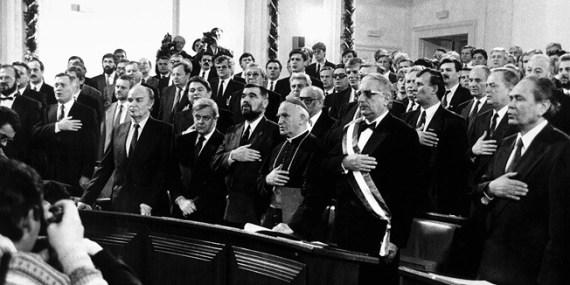 Konstituirajuća sjednica višestranačkog Sabora 1990.