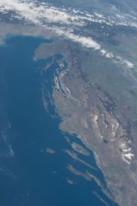 hrvatska iz svemira nasa