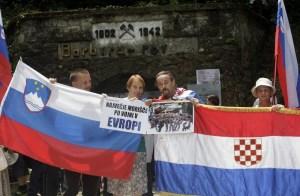 huda jama partizani ustaše slovenija antifašizam