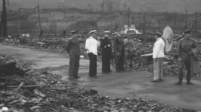 nagasaki hirošima atomska bomba snimka