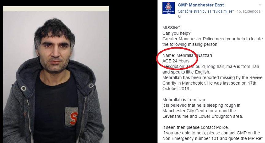 engleska policija imigranti