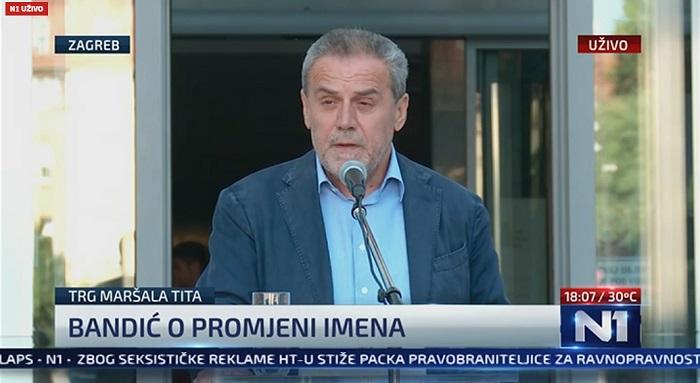milan bandić, trg maršala tita, trg republike hrvatske
