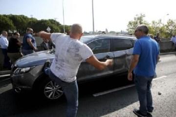 uber, taksi, napad