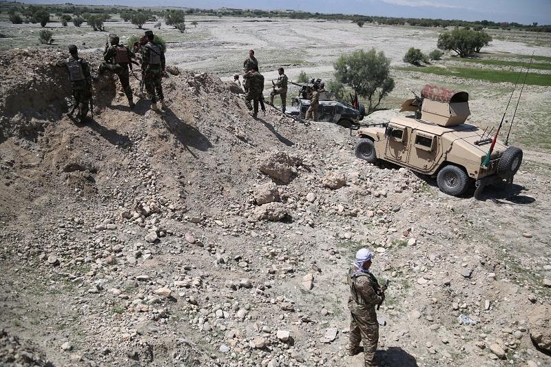 Од заседа убиени девет авганистански полицајци