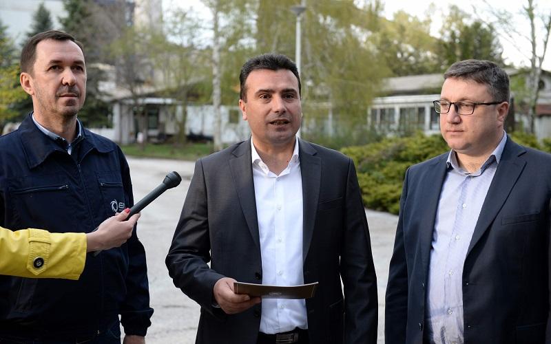 Премиерот Заев во посета на пелагонискиот регион