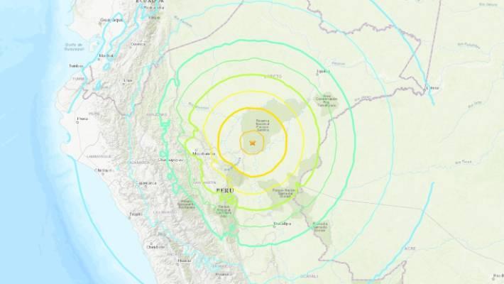 Земјотрес од 8 степени го погоди Перу