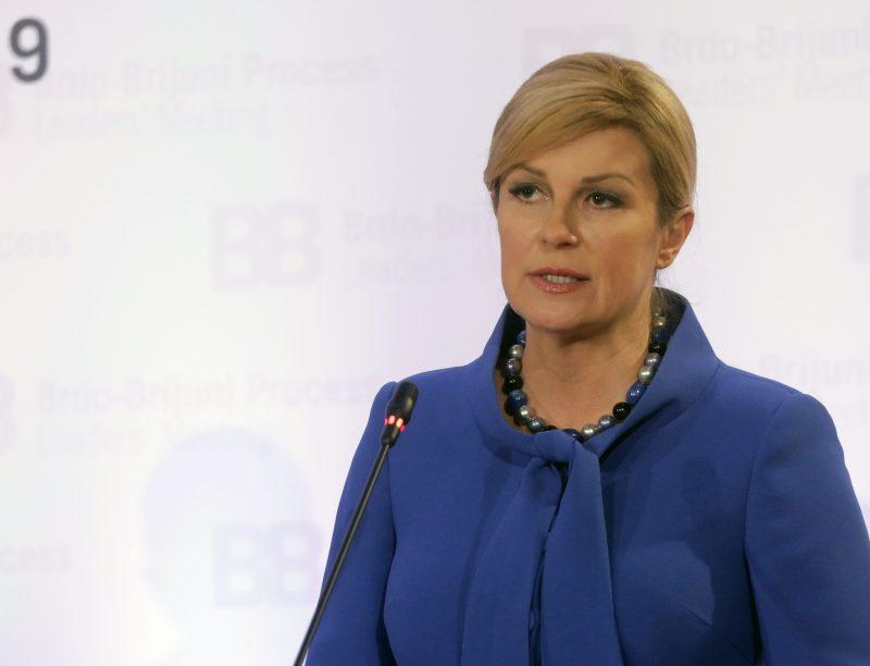 Навреди упатени кон Колинда: Луда русокоса, таа е понижување за Хрватска