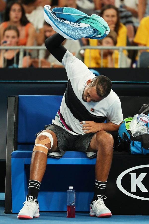 Кирјос има една молба за Федерер