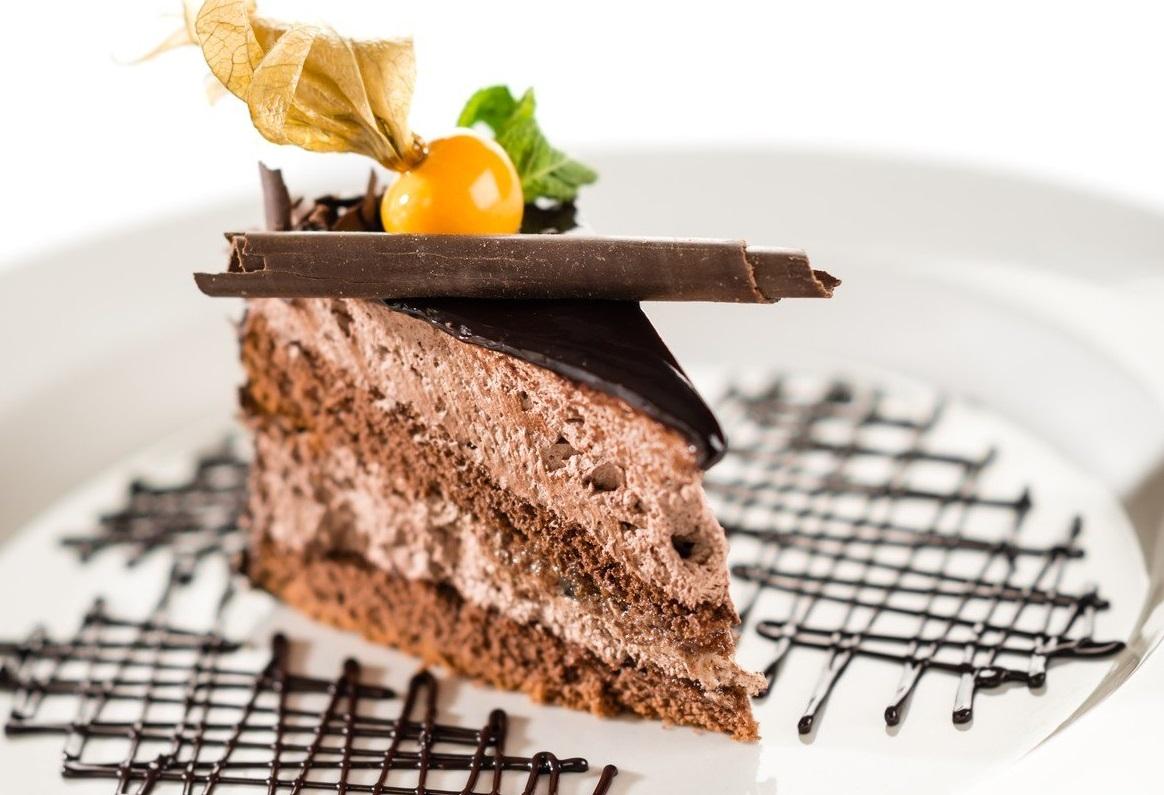 чоко-лешник крем торта