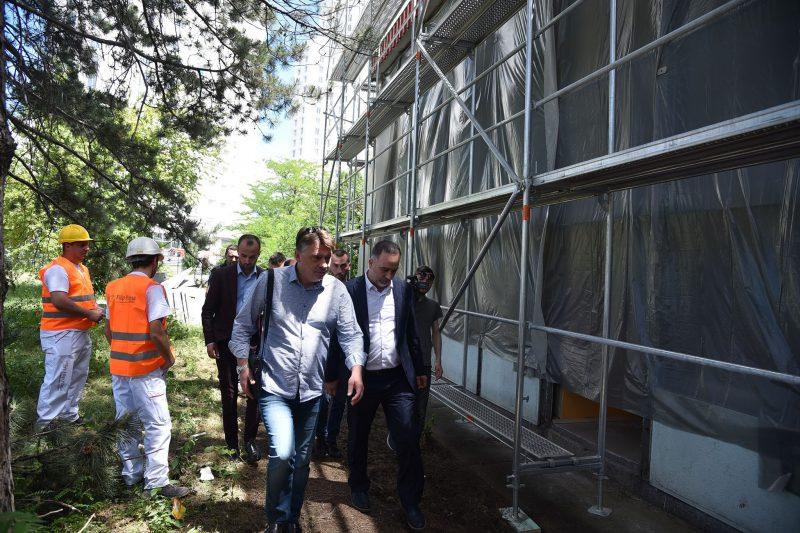 Средното хемиско училиште во Скопје ќе добие нова модерна фасада
