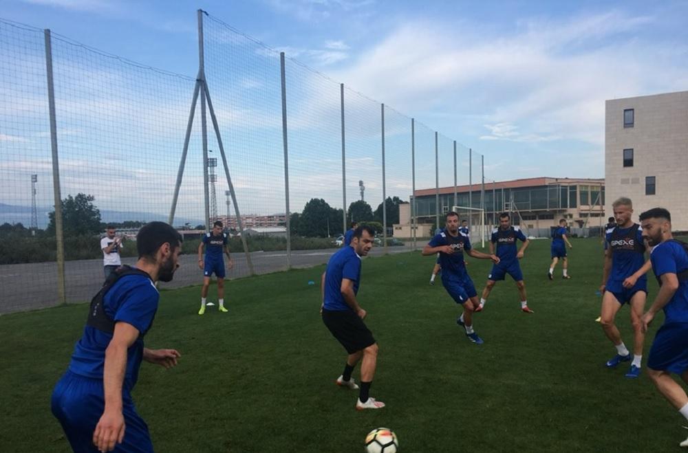 Горан Пандев и Илиев тренираа со Академија Пандев