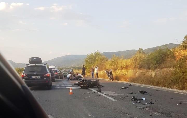 Едно лице повредено, по тешка сообраќајка кај Охрид