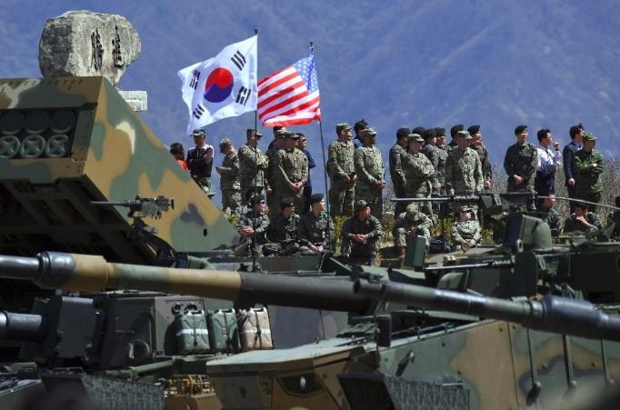 КЦНА: Целта на вежбите на Јужна Кореја и САД е напад врз Северна Кореја