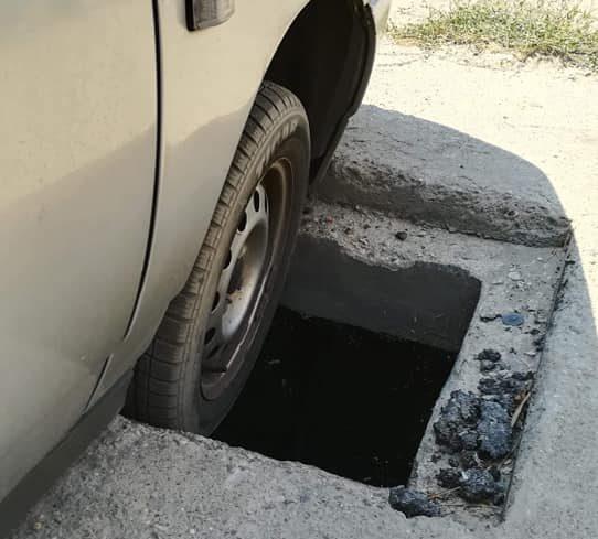 Автомобилите во Кисела Вода пропаѓаат во дупки