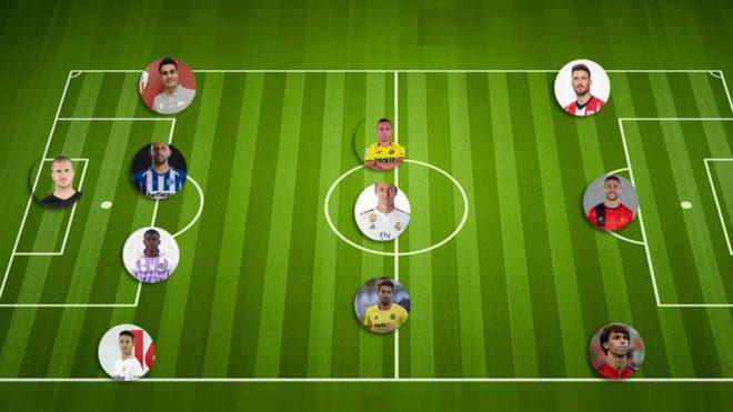 """Идеалниот тим на """"Ла Лига"""": Каде се играчите на Барса?"""