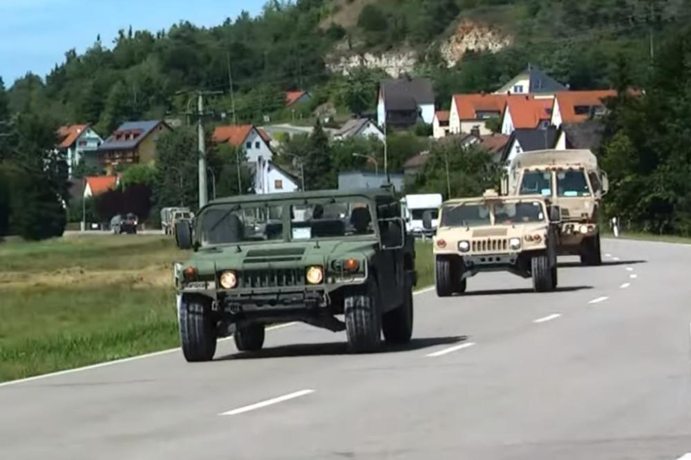 Американците за време на воена вежба паднале во ЗАСЕДА на босанските војници и НЕ си поминале убаво